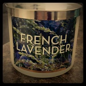 French lavender BBW candle